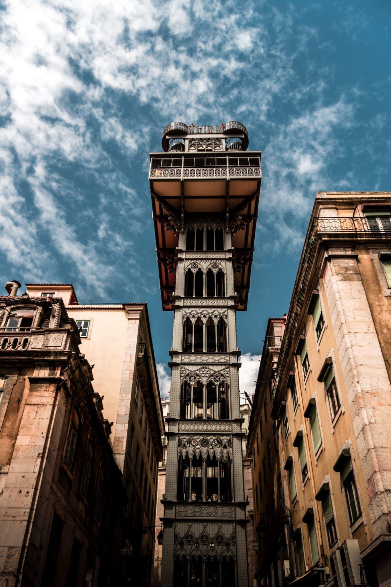 Santa Justa Lift - Lisbon Portugal The Travel Escape 5