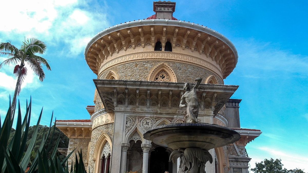 Palace of Monserrate - Day Trip To Sintra Portugal The Travel Escape