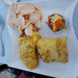 Food at Ko Ko Mo - Gili Trawangan