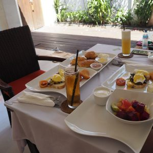 Breakfast at Ko Ko Mo - Gili Trawangan