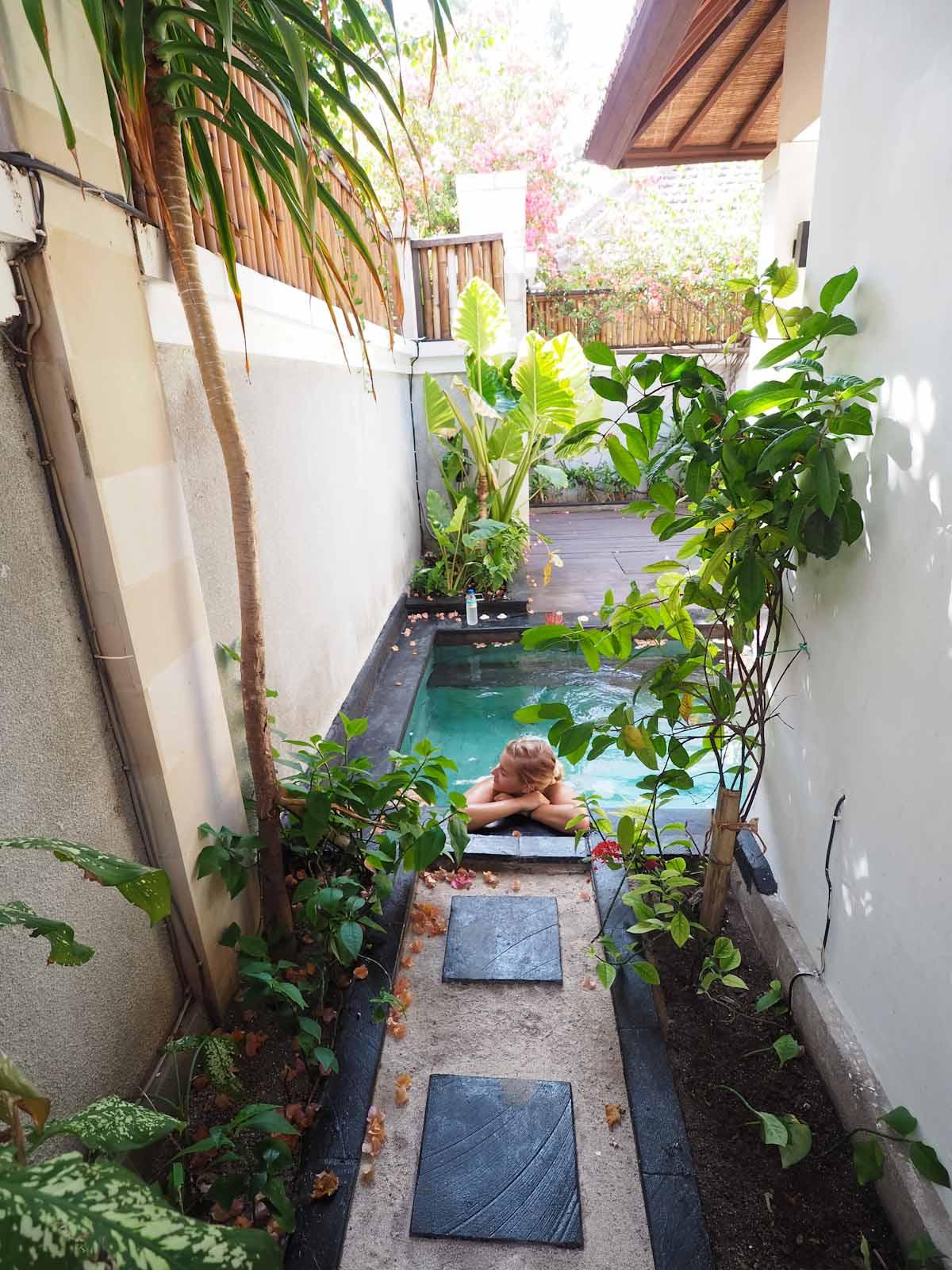 The Private Pool at Ko Ko Mo - Gili Trawangan