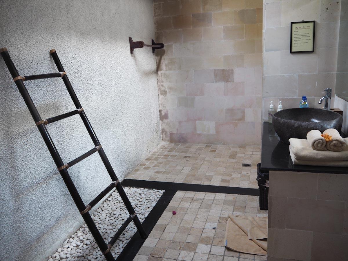 The Bathroom at Ko Ko Mo - Gili Trawangan