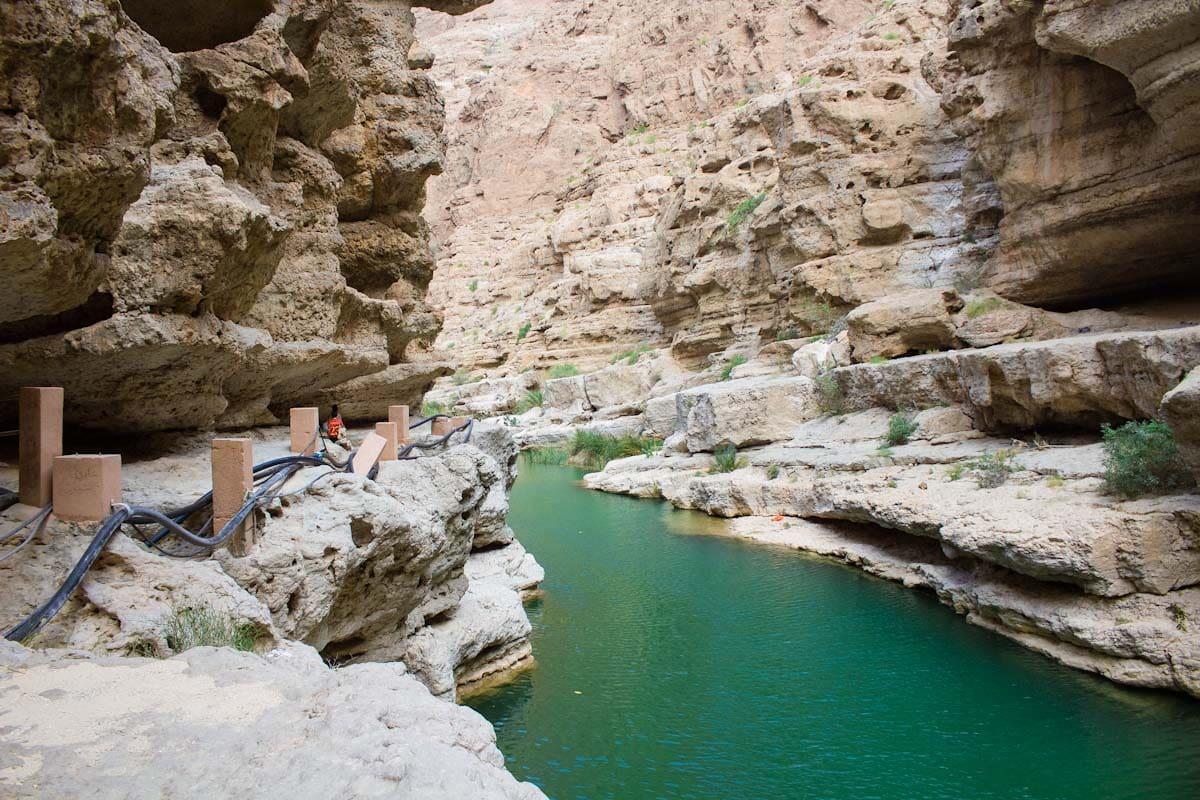 Hiking Through Wadi Shab Oman - The Travel Escape 8