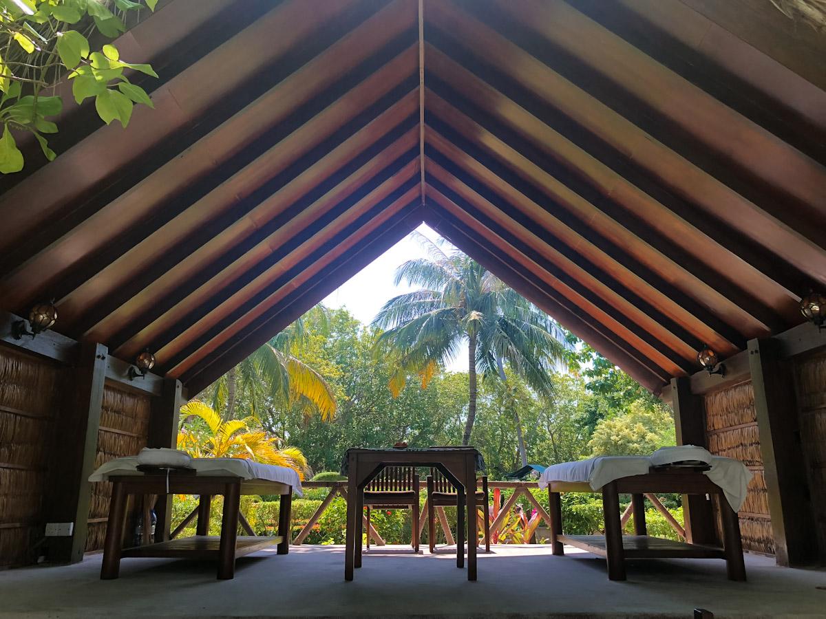 Spa at the Adaaran Vadoo Maldives