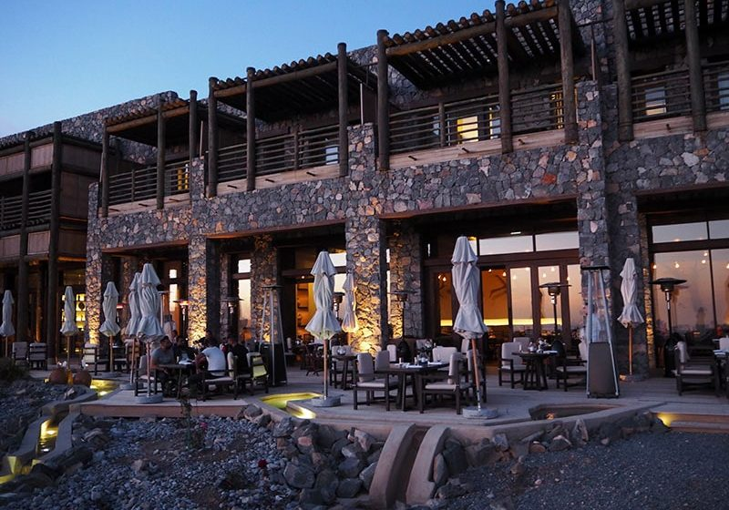 The Juniper Restaurant at the Alila Jebal Akhdar