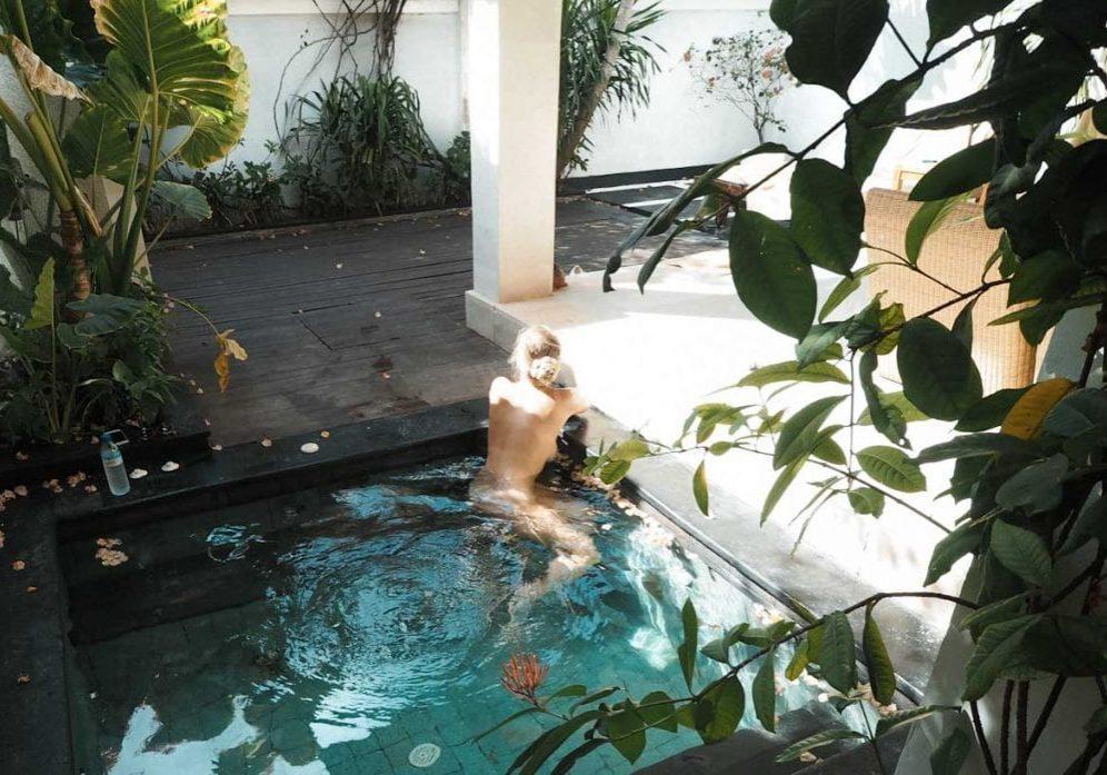 Private Pool at Ko Ko Mo, Gili Trawangan
